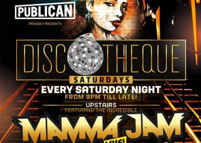 DISCO w MAMAJAM LIVE ON STAGE